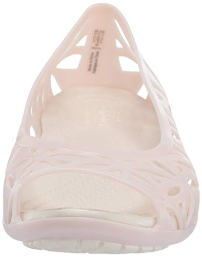 Flat 6pm Crocs Rose barely oyster Isabella Women Sandales Ii Femme Bout Pink Jelly Ouvert p4trOq4