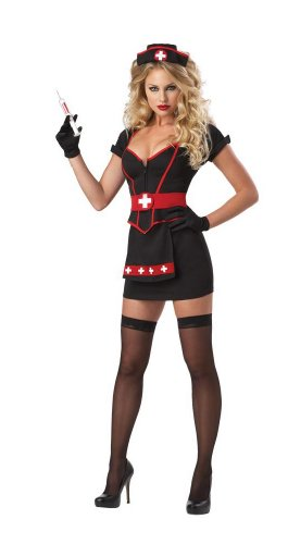 California Costumes Cardiac Arrest Set, Black, X-Large for $<!--$25.15-->