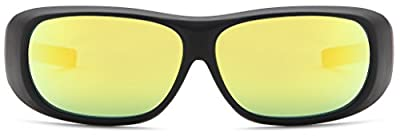 Apollo Horticulture UV400 Fit Wear Cover Over Prescription Glasses Wearer Indoor Growing Hydroponics LED Grow Light Room Glasses for Intense LED lighting Visual Eye Protection - LEDGrower2