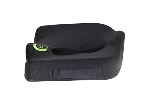Zen Comfort - Memory Foam Seat Cushion - Wheelchair, Car, Truck, Office Chair, Meditation & Yoga, STORAGE BONUS BAG INCLUDED!