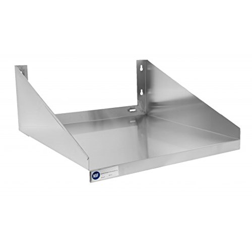 Gusto MS2424 24'' x 24'' Stainless Microwave Shelf by Gusto
