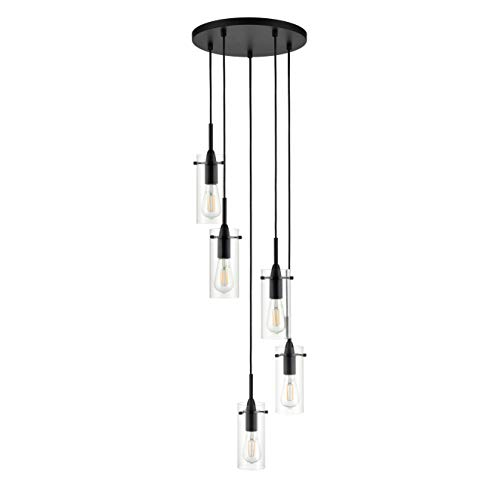 Multi Pendant Foyer Light in US - 5