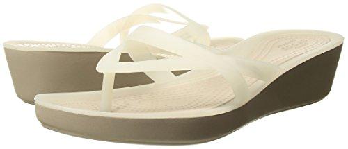 Pictures of Crocs Women's Isabella Wedge Flip Crocs Isabella Wedge Flip W 4