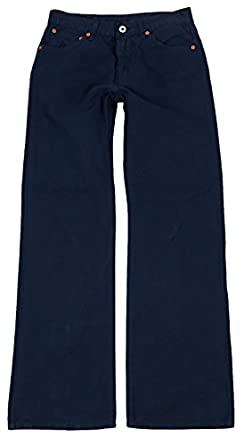 Replay Mens Waist Boot Cut Trousers MV907  0321036 086  Blue