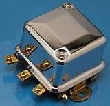 6v voltage regulator motorcycle - ACCEL Chrome Mechanical 6Volt Regulator 201106C
