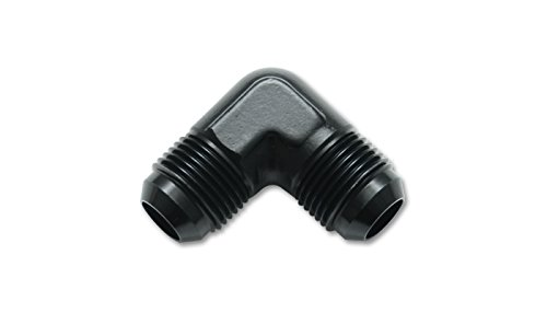 (Vibrant Performance 10556 Adapter Fitting (821 series Flare Union 90 Degree s; Size: -16 AN))