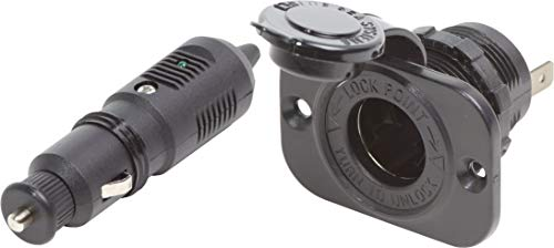 Blue Sea Systems 12-Volt Plug with Dash Socket ()