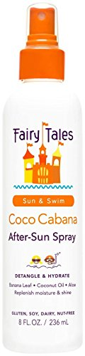 Fairy Tales Coco Cabana Leave In Sun Spray - 8 (Fairy Hair Brush)