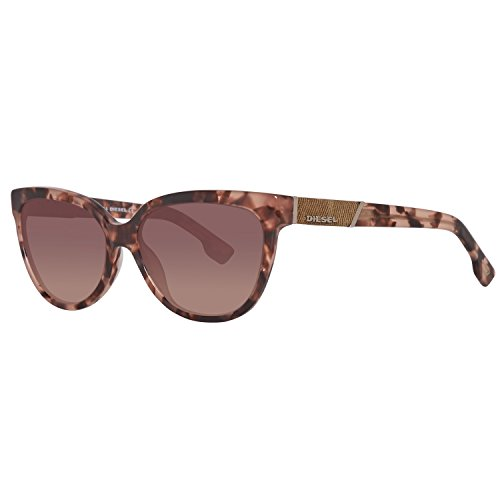 Sunglasses Diesel DL 102 DL0102 55Z coloured havana / gradient (Designer Square Sonnenbrille)