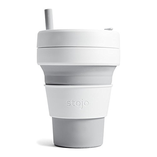 Stojo S2-DOV C Silicone Collapsible Cup, 16 oz