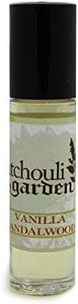 Patchouli Garden - Vanilla Sandalwood Perfume Roll-on