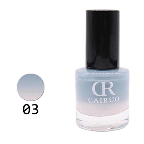 Price comparison product image Hot Sale! Temperature Colors Change Gel Nail Polish Chameleon Color Gel Polish Nail Art Decoration (C)