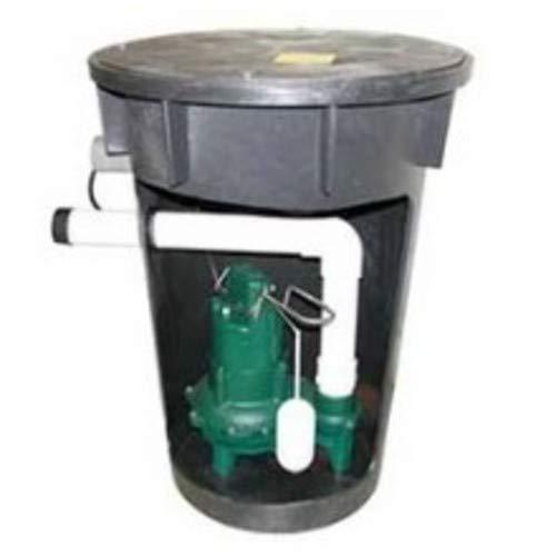 (4/10 HP Sewage Pump and Basin System)