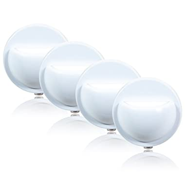 Maxxima MLN-12 Wall Wash LED Night Light With Dusk to Dawn Sensor (Pack of 4)