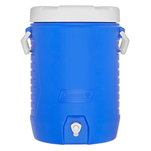 - Coleman 5-Gallon Beverage Cooler, Blue