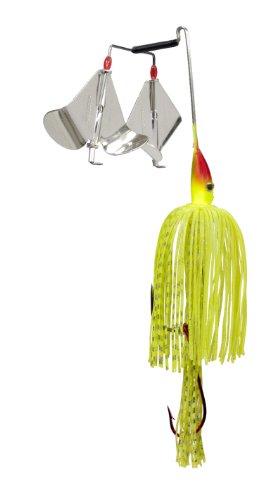 Strike King Premier Plus Buzzbait - The Double Take (Super Chartreuse, 0.375-Ounce)