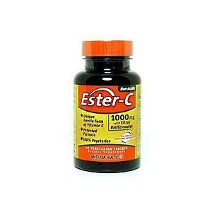 AMERICAN HEALTH ESTER-C 1000 W/CIT BIO VG, 45 TAB (45 C Tabs Vitamin Ester)