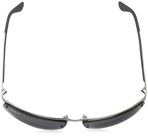Matte RB Sonnenbrille Ban 3550 Ray Silver w4SOn