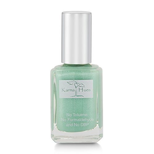 Karma Organic Natural Nail Polish-Non-Toxic Nail Art, Vegan and Cruelty-Free Nail Paint (SEA GLASS)