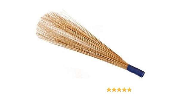 Tradicional de la India Coco cepillo de barrido escoba jardín al aire libre Patio piso mango 100 cm: Amazon.es: Hogar