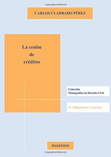 La cesión de créditos (Monografias Derecho Civil I): Amazon.es ...