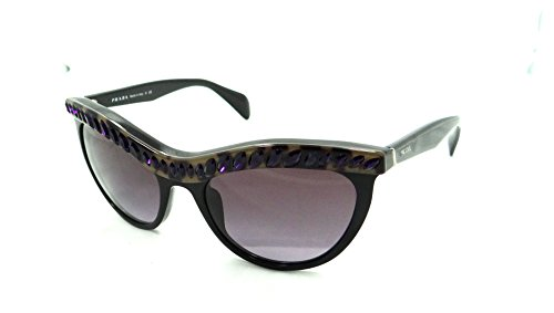 Prada Sunglasses Spr 04p Ma5-5f1 54x19 Havana Shiny Black / Purple Gradient (For Men Sale Prada Sunglasses)