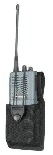 Gould & Goodrich X652-1 Universal Swivel Radio Case Case is 1-3/4 Diamater X 2-7/8 Width X 4-3/4 Height (Black Ballistic Nylon)