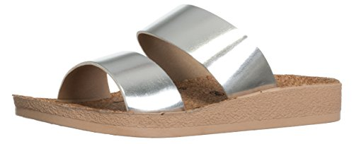 Mule Mule Silber Silber Bari Bari Bari Mule Femme Femme 6qSwcxTOfS