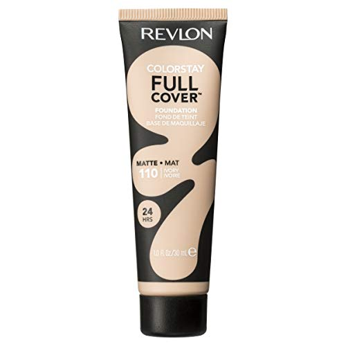 Revlon ColorStay Full Cover Foundation, Ivory, 1.0 Fluid Ounce