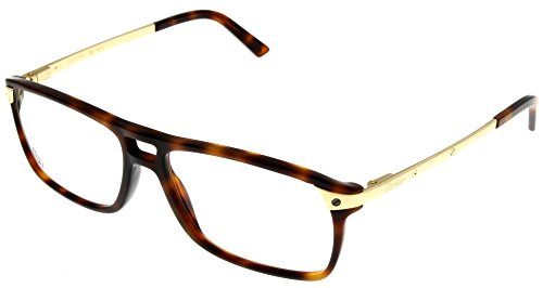 5e6ed3b8710c Cartier Prescription Eyeglasses Frame Unisex Havana T8101223 SANTOS Aviator  - Buy Online in Oman.