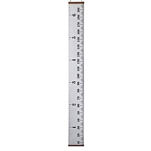❤️Ywoow❤️ Wall Hanging, Baby Height Growth Chart Hanging Rulers Kids Room Wall Wood Frame Home Decor New