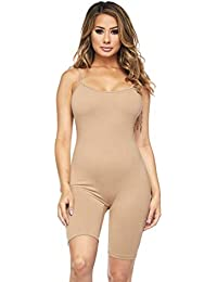 5a0d394d3c8b Women s Basic Tank Top Unitard Jumpsuit (S-XXXL) · SOHO GLAM
