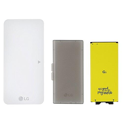 (Genuine OEM Original LG Battery (BL-42D1F) + Battery Case + Charging Cradle (BCK-5100) for LG G5 (Bulk Packaging))