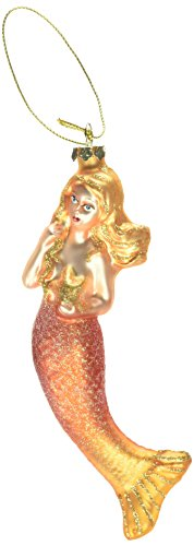 Department 56 Gone to the Beach Coast Fun Mermaid Hanging Ornaments (assorted styles)