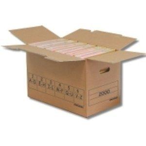 pressel Caja Trans de caja, para archivadores de 6, 51, 5 x 28
