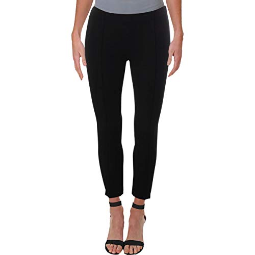 Michael Michael Kors Womens Petites Stretch Trouser Pants Black 0P