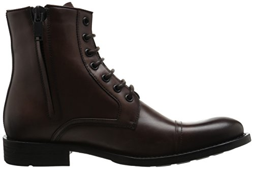 Kenneth Cole New York Mens Tankene Over Saken Combat Boot Brown
