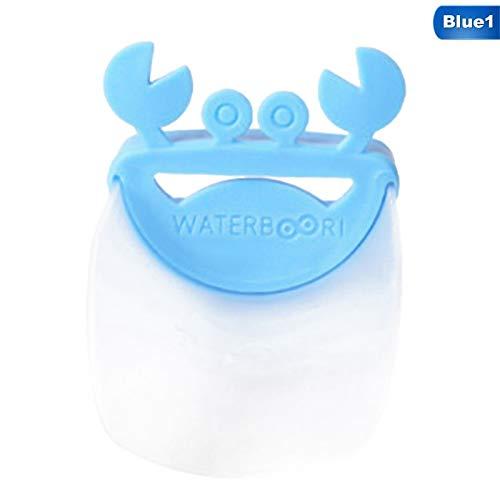 Bathing & Grooming Smart Cute Bathroom Sink Faucet Chute Extender Crab Children Kids Washing Hands Good Taste