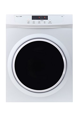 Equator 3.5 Cu. Ft. 8-Cycle Electric Dryer White/silver ED 860 V