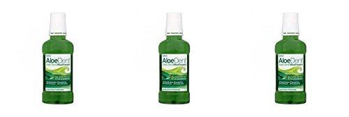 (3 PACK) - Aloe Dent Aloe Vera Mouthwash | 250ml | 3 PACK - SUPER SAVER - SAVE MONEY ()