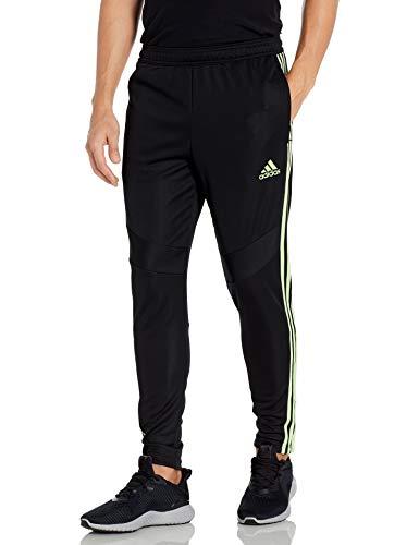 adidas Men's Standard Tiro 19 Pants, Black/Glow