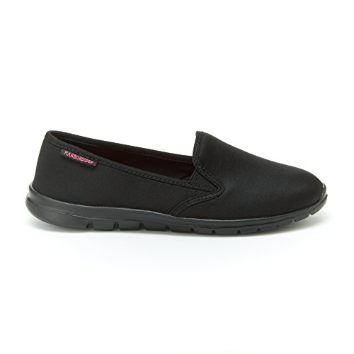 Athletic Sneaker Foam Memory US Harborsides M 9 B Abby Zapatos Slip On Insole negro Shoes Grey w5qXpUqf