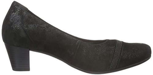 Donna 97 Gabor Nero schwarz Basic Comfort Con Scarpe Tacco 7Ax8UpnwA