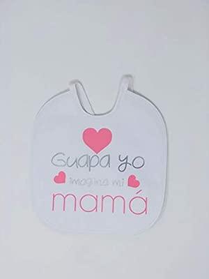 Babero personalizado con frases bonitas para bebés, Regalo ...
