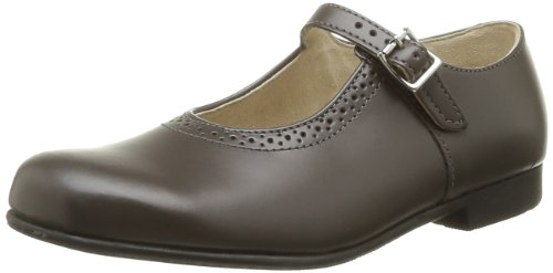 Clare Grey ville Gris Leather fille de Rite Chaussures Start Paw05ggq