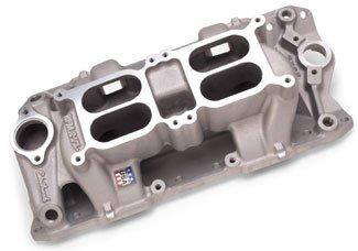Edelbrock 7525 Performer RPM Air Gap Dual Quad Intake Manifold