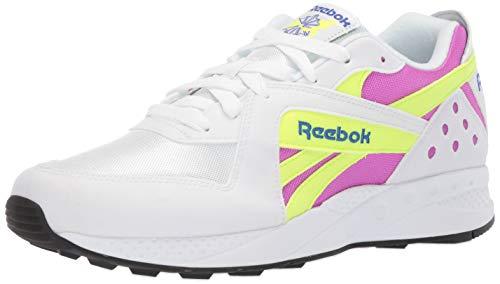 Reebok PYRO, white/vicious violet/neon yellow/crushed cobalt/black, 10 M ()