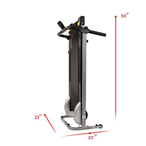 Sunny Health & Fitness SF-T1407M Manual Walking Treadmill, Gray by Sunny Health & Fitness (Image #13)