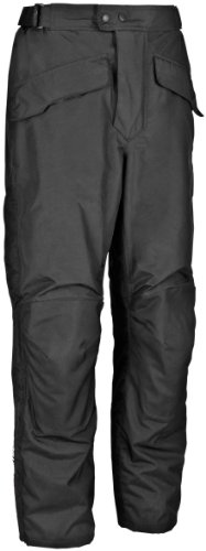 Firstgear Street Bike - FirstGear HT Overpants Shell Men's Textile Sports Bike Racing Motorcycle Pants - Black / Tall / Size 36