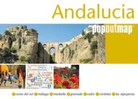 Andalucia, Spain PopOut Map